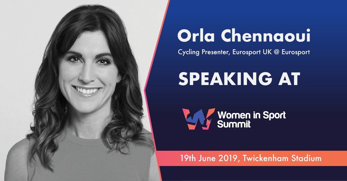 Speaker Spotlight: Q&A With Orla Chennaoui, Cycling Presenter, Eurosport UK